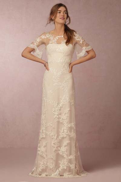 See Marchesa s First Wedding Dresses for BHLDN   Racked Estella gown