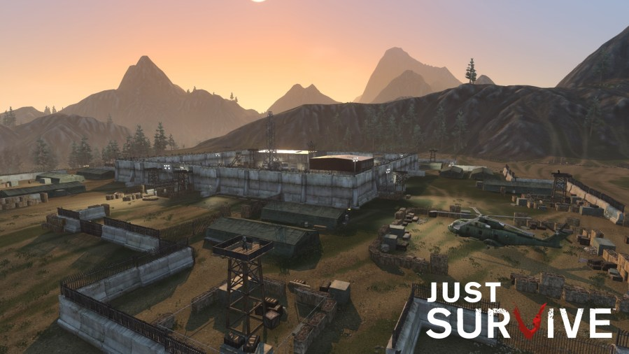 H1Z1 s survival game is dropping the H1Z1 part   Polygon On the left a sample of the game environment as depicted in H1Z1  Just  Survive  On the right that same region depicted in the new map for Just  Survive