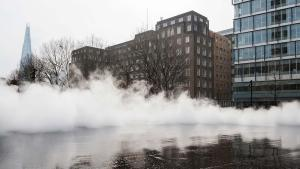 Fujiko Nakaya's Fog Sculpture Fills The Air Around Tate
