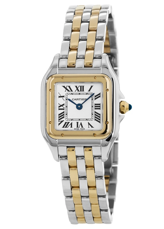 Cartier W2PN0006 Panthere de Cartier Small Women s Watch   WatchMaxx com Cartier Panthere de Cartier Small Yellow Gold and Stainless Steel Women s  Watch W2PN0006