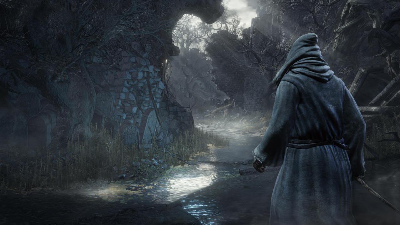 Knight At Firelink Shrine