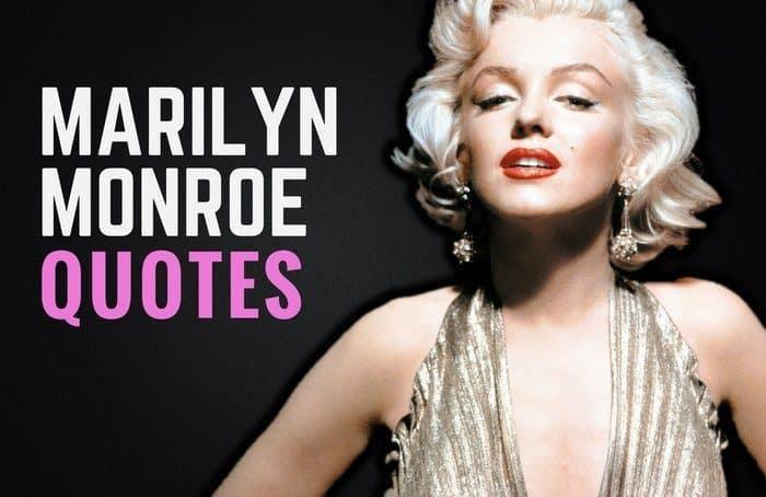 35 Inspiring Marilyn Monroe Quotes & Sayings | Wealthy Gorilla