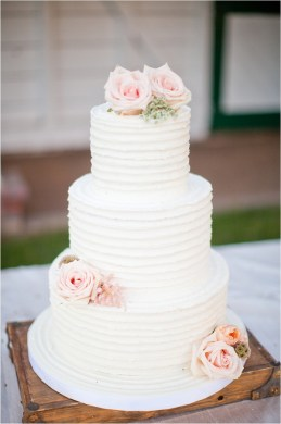 Show me your simple yet elegant wedding cakes