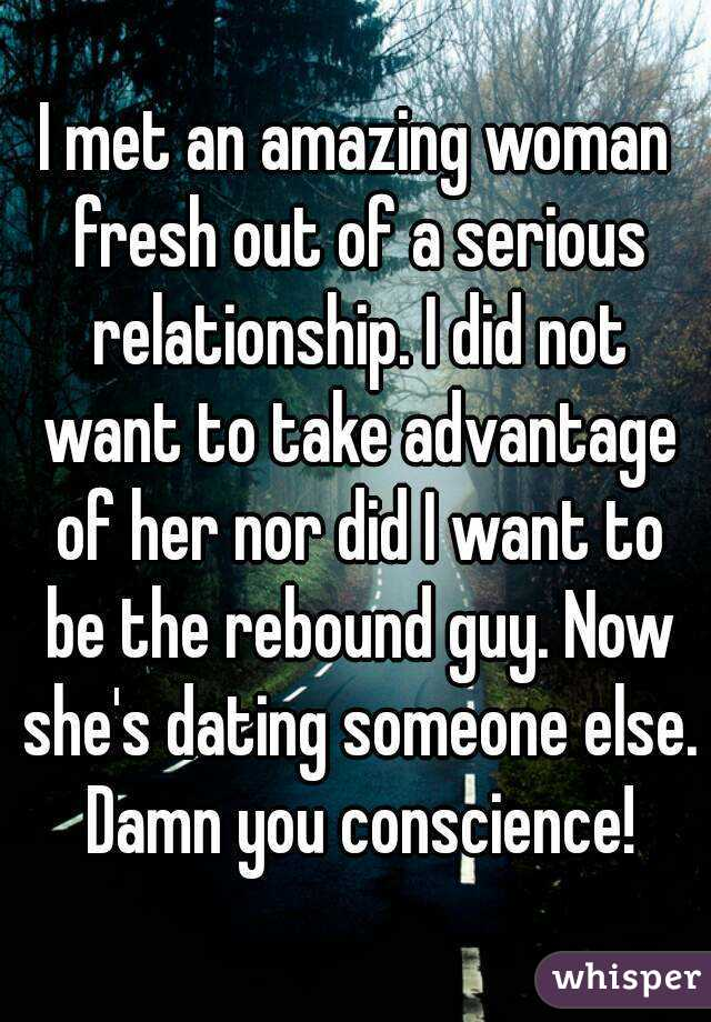 How Tell If She Rebound Relationship
