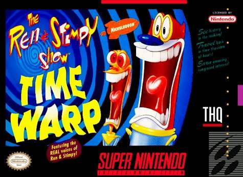 The Ren Amp Stimpy Show Time Warp Strategywiki The Video
