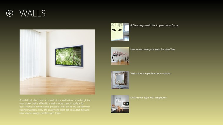 Room Design App Windows 8