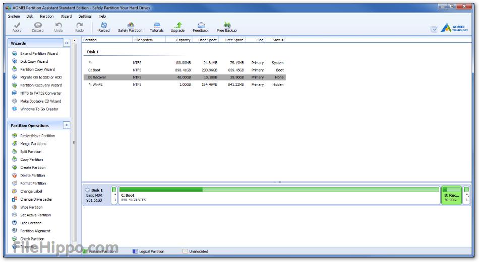 Drive Management Windows 8