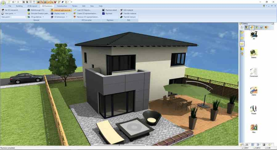 Ashampoo Home Designer Pro 4 lets you plan and design your house in 3D Ashampoo Home Designer Pro 4 features