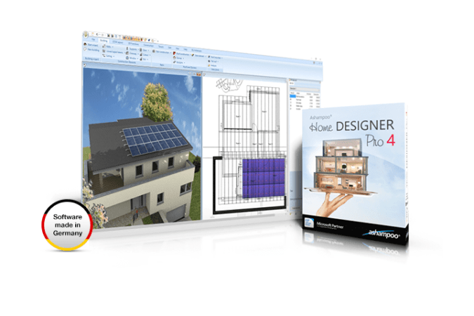 Ashampoo Home Designer Pro 4 lets you plan and design your house in 3D