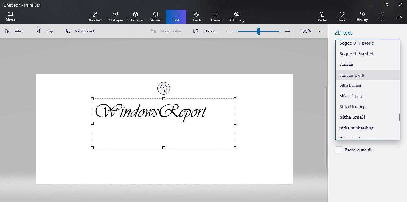 Fresh Paint App How Use