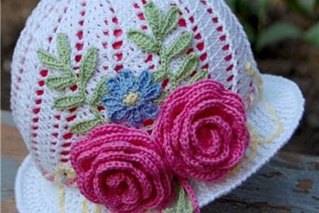 Little Girl Crochet Hats With Flowers Flower Shop Near Me Flower