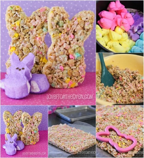 Easter Jello Cakes