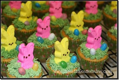 Easter Nest Birds Cakes