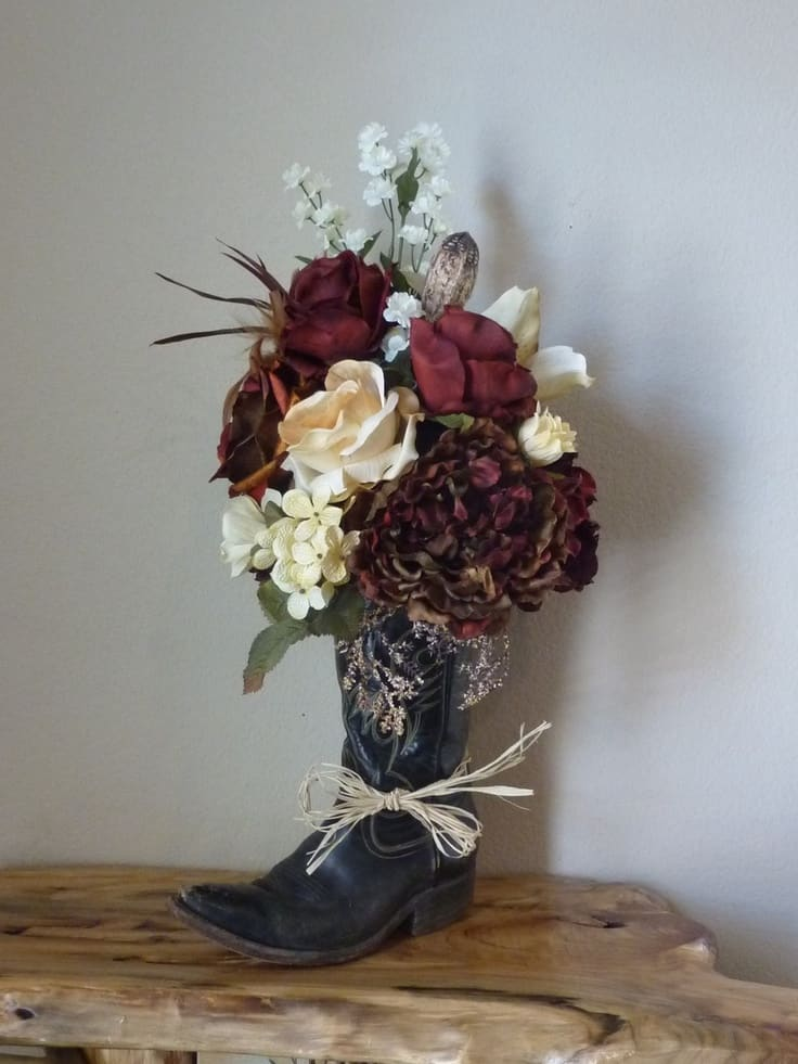 Upcycling With Style Great Projects Made From Old Boots
