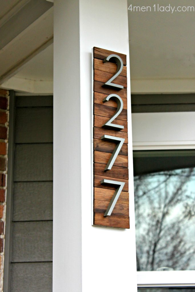 Welcome Home Innovative Diy House Number Signs