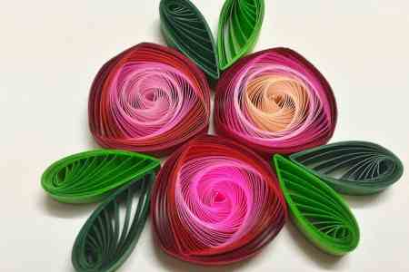 Quilling flowers rose top artist of the year 2018 top artist of pcs lot paper quilling flowers rose paper handmade material pcs lot paper quilling flowers rose paper handmade material accessories best quilling flowers mightylinksfo