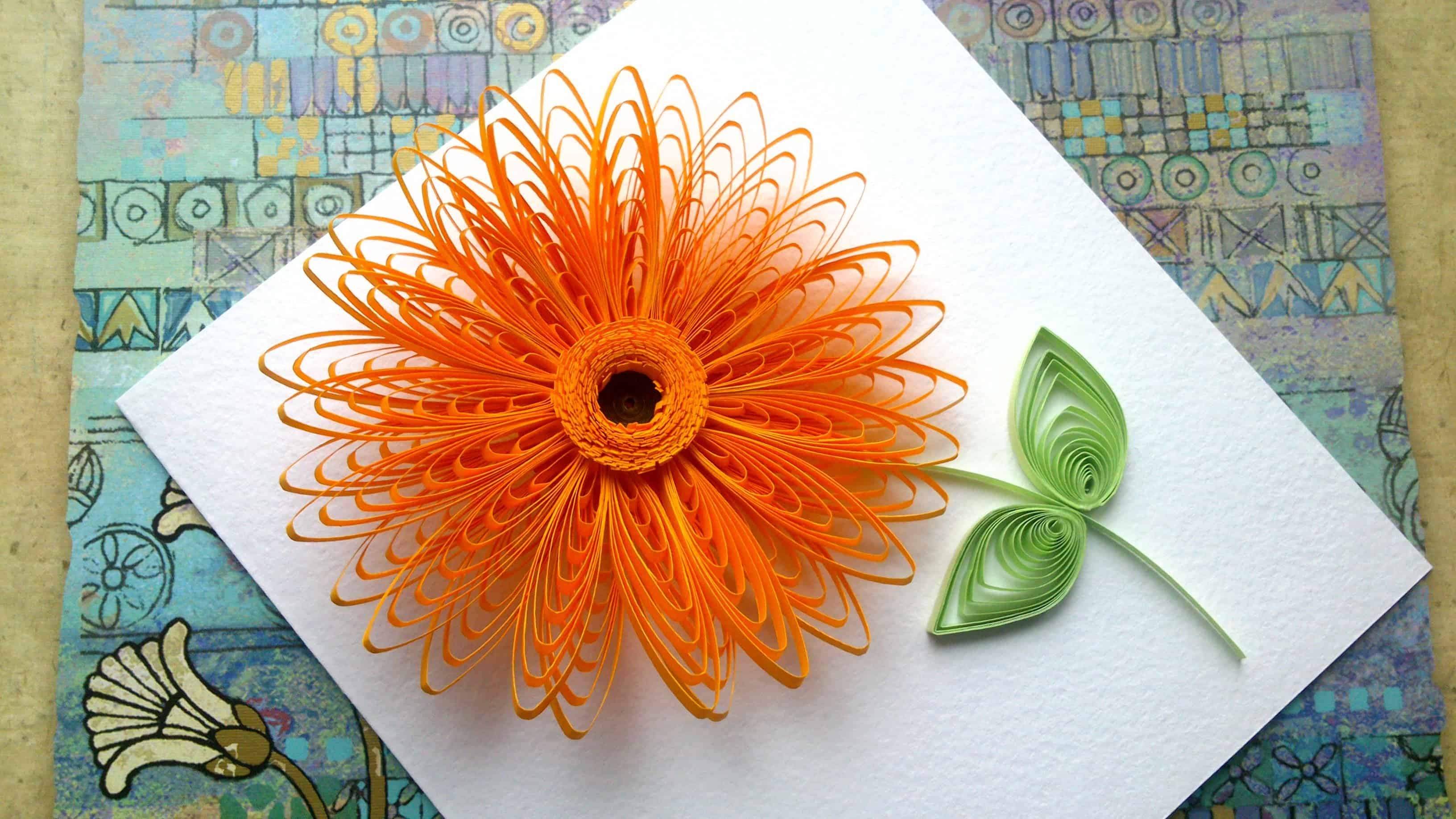 Trendy and Brilliant: 15 Floral Paper Quilling Projects