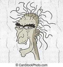 Ugly face Illustrations and Clipart. 2,266 Ugly face ...