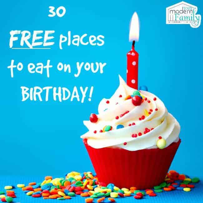 Places Eat Kids Birthday