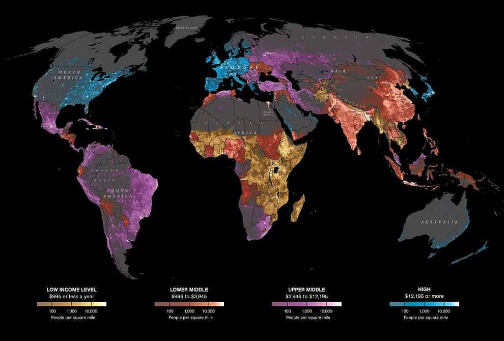 Making sense of the world in 14 Maps As