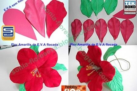 1427b2d7164 Como Hacer Flores De Goma Eva Paso A Paso Flores De Goma Eva Foamy