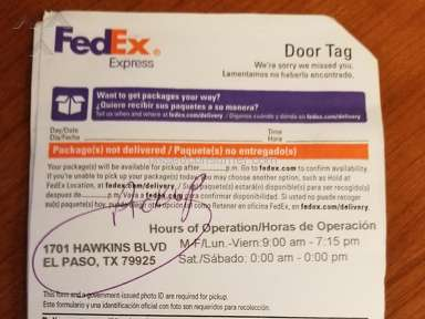 FEDEX CLEARANCE DELAY IN MEMPHIS Mar 20  2018   Pissed Consumer Trobbles to get my package at FedEx