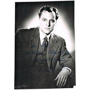 Boris Christoff Autograph And Dedication On Photo. CoA : Collect At  Curioshop | Ruby Lane