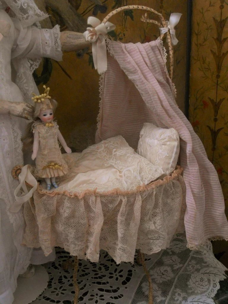 Very Nice Small Baby Doll Cradle When Dreams Come