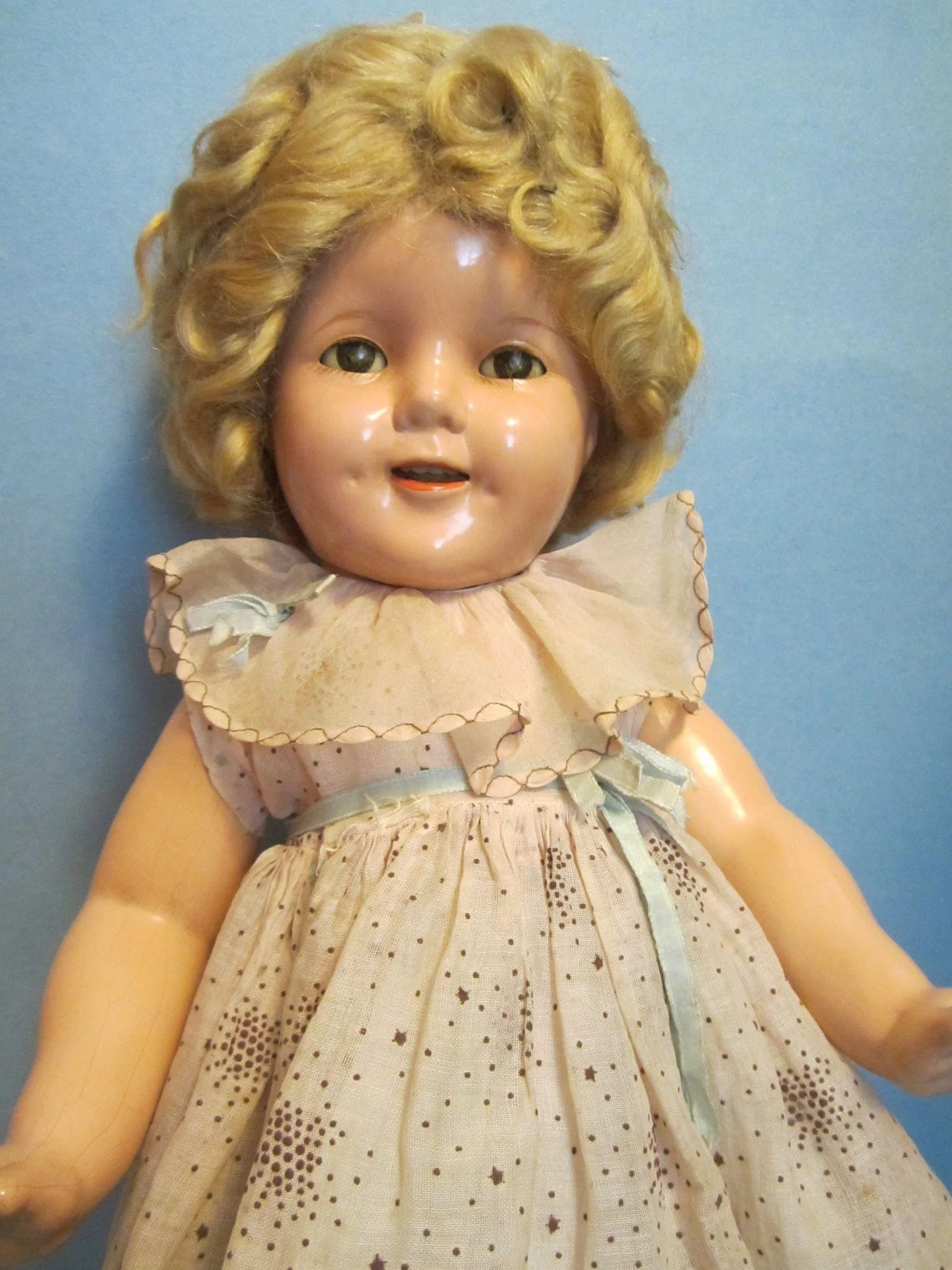 Shirley Star Temple Head