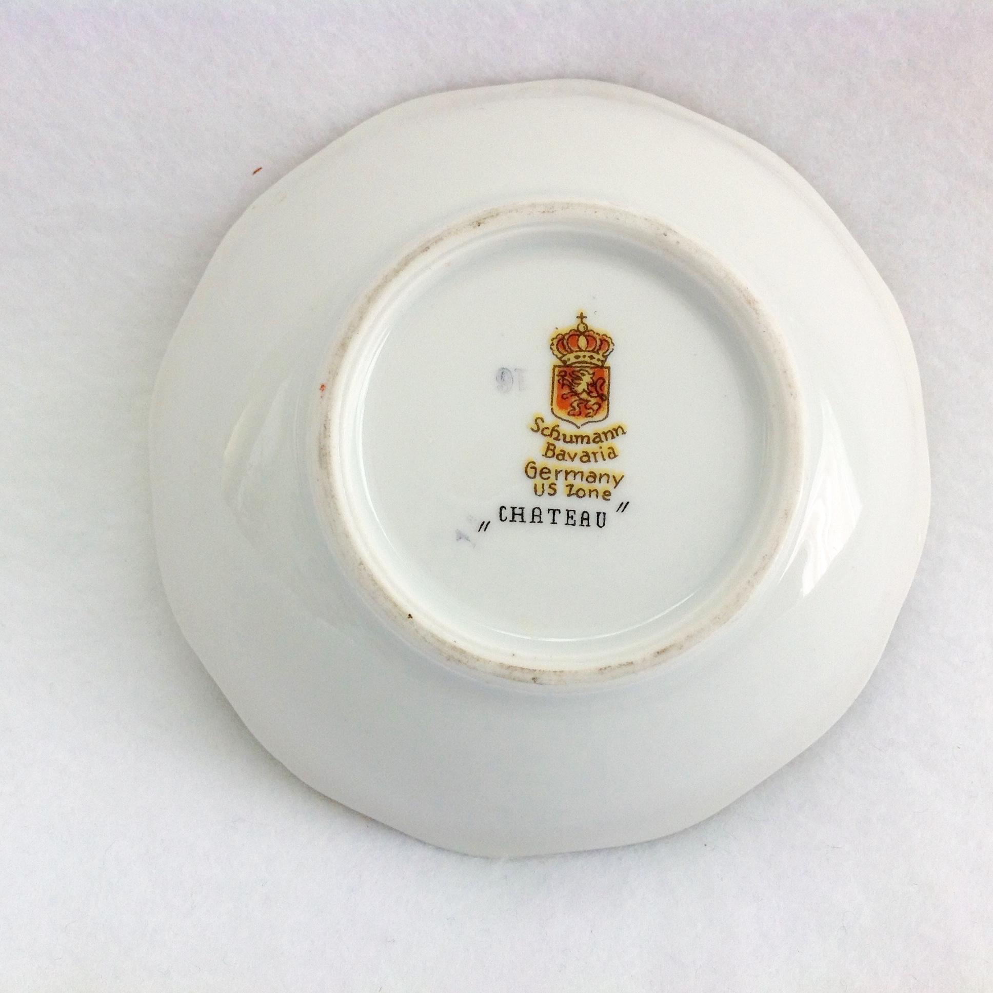 Over S Porcelain Mark Crown