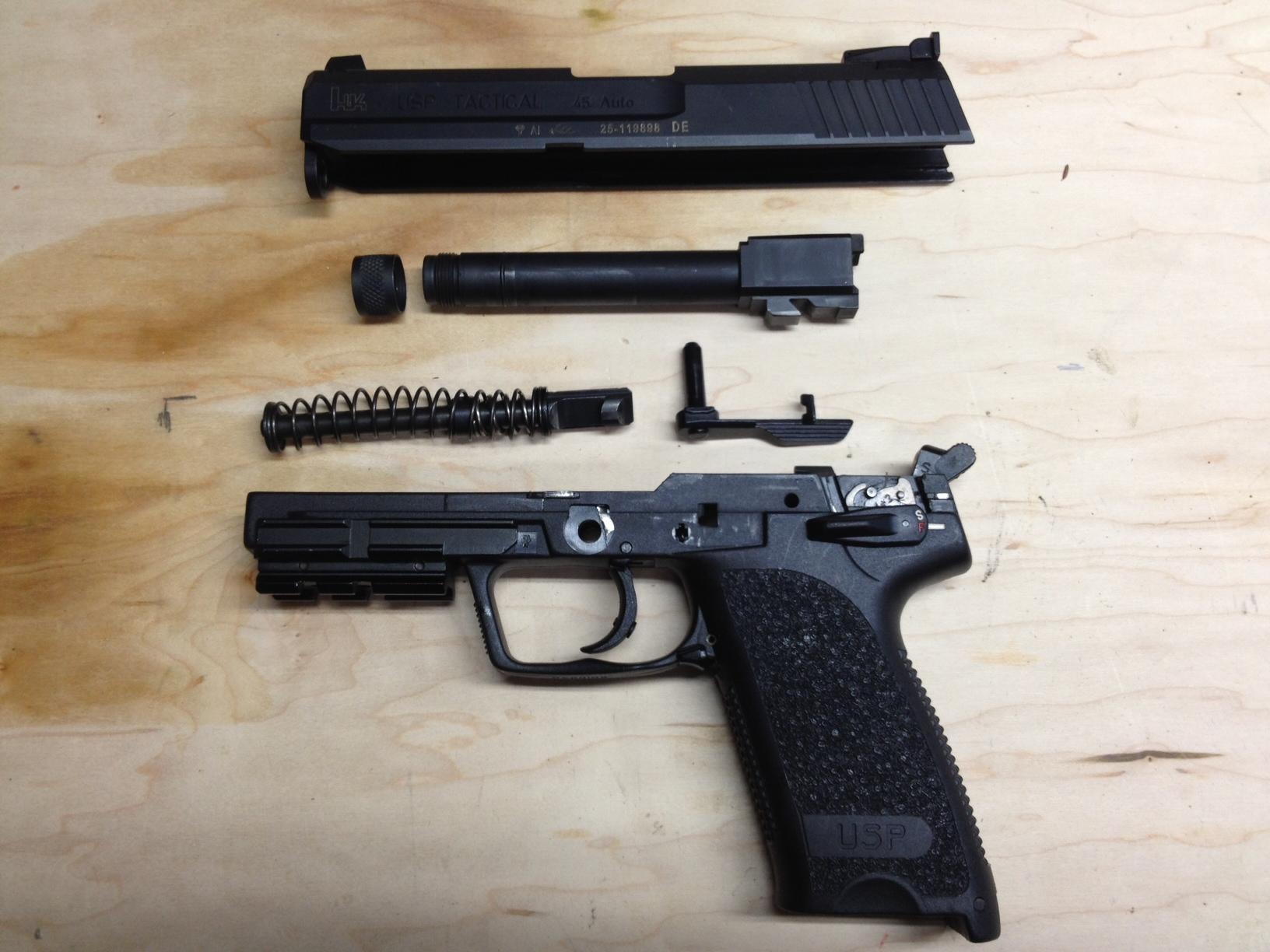 Pistol Ribbon Navy Expert