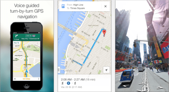 Google Maps iOS update brings offline navigation and up to date gas     Google Maps iOS update brings offline navigation and up to date gas prices