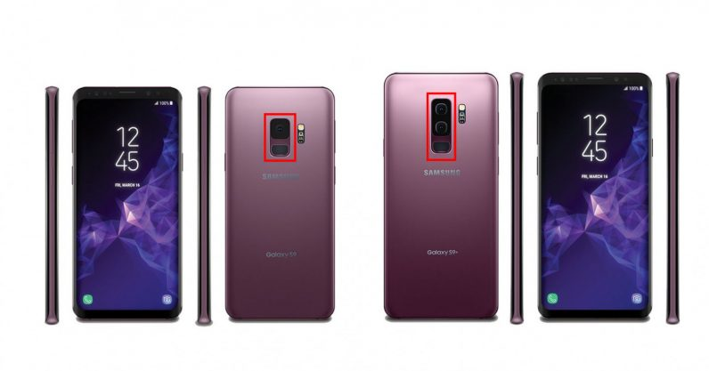 Purple Galaxy S9 leaks, confirms only Plus model will have ...