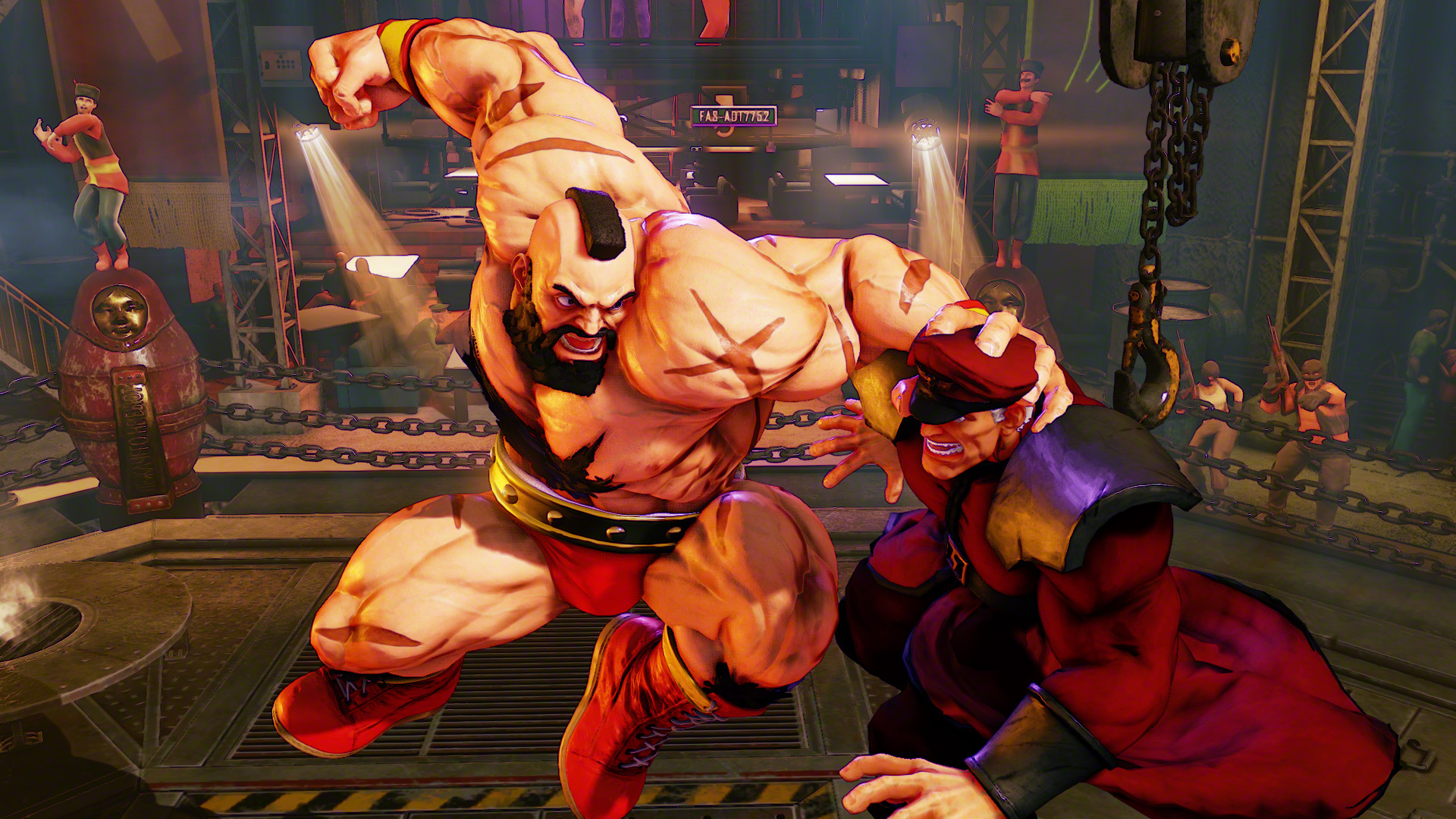 Zangief is coming back for Street Fighter 5 | Polygon