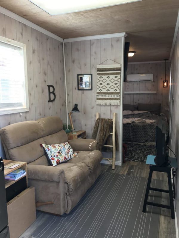 Shipping Container House In Texas Is Filled With Rustic Charm