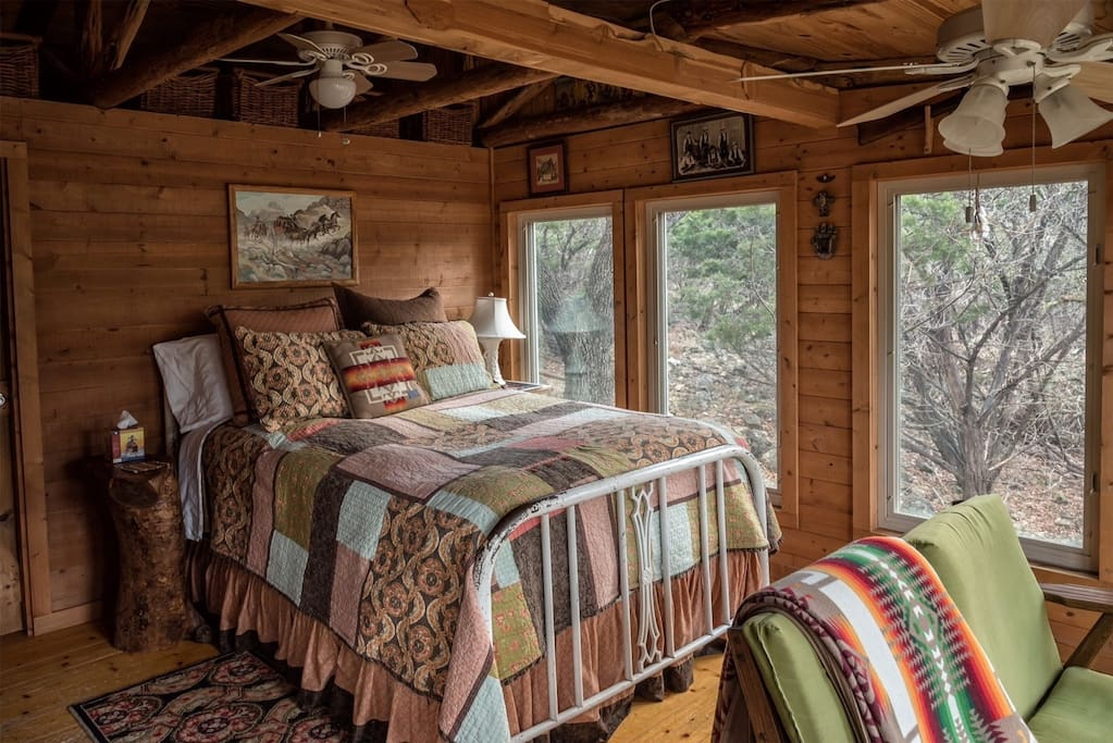Peek Inside This Rustic And Cozy Cabin On The Blanco River