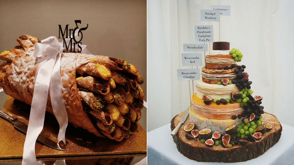 7 Wedding Cake Alternatives That Are Guaranteed People Pleasers wedding cake alternatives