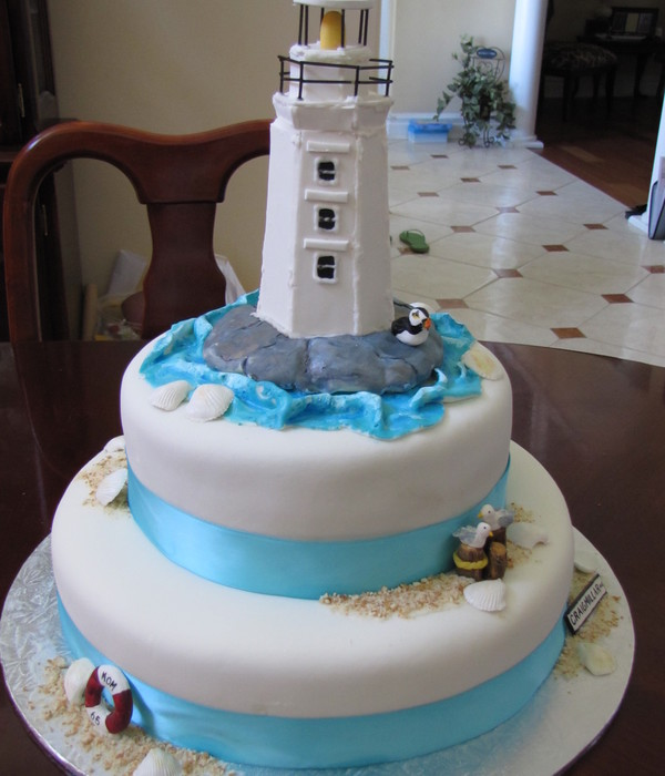 Top Lighthouse Cakes Cakecentral Com