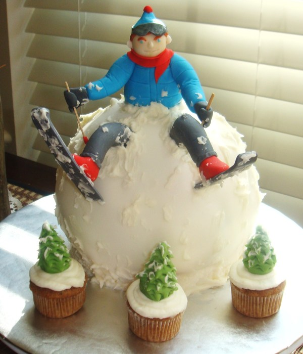 Top Skiing Cakes Cakecentral Com