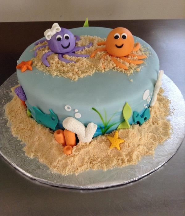 Top Sea Creature Cakes Cakecentral Com