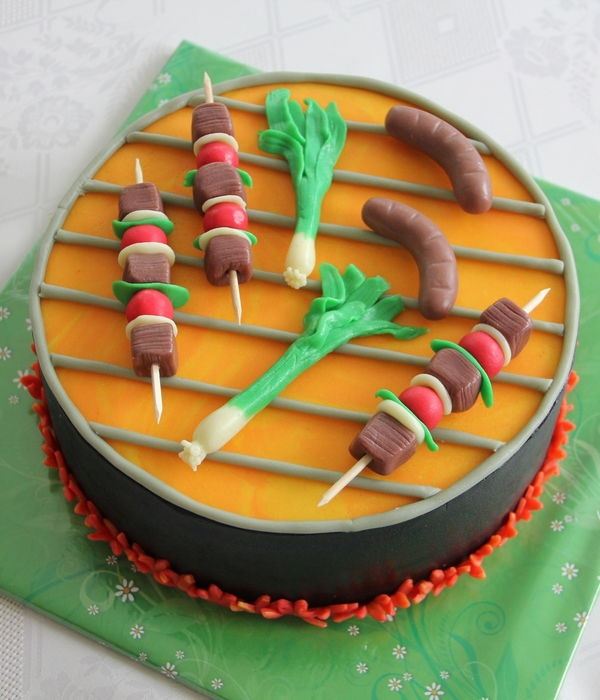 Amazing Bbq Cakes Cakecentral Com
