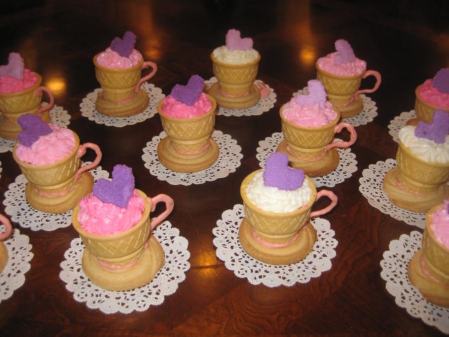 Tea Cups For Tea Party Birthday Theme Cakecentral Com