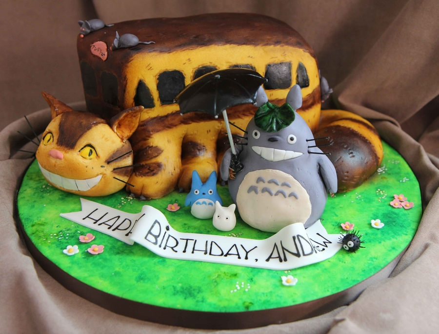 Totoro Cake Cakecentral Com