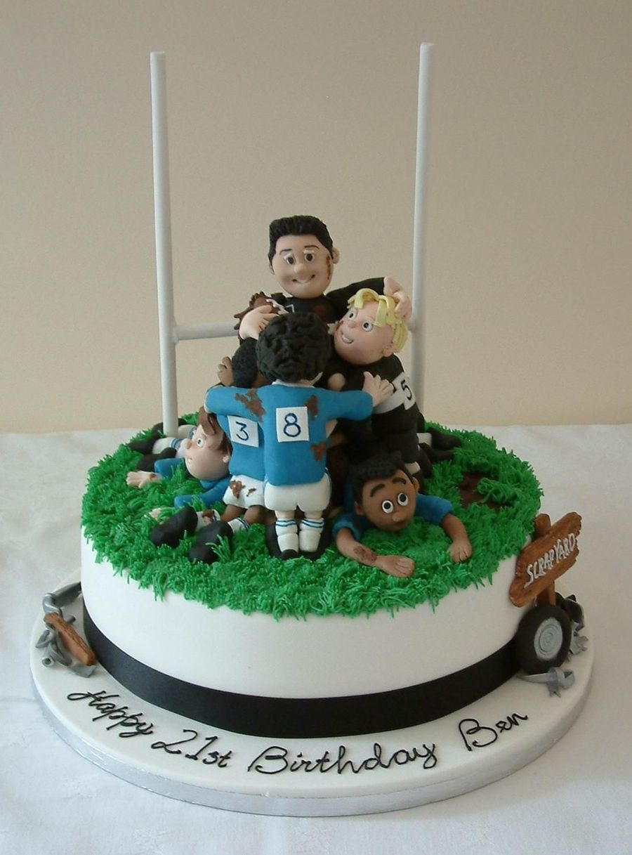 Rugby Scrum Cakecentral Com