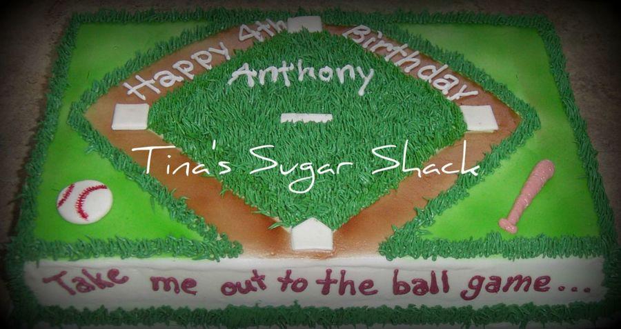 Baseball Birthday Cake Cakecentral Com