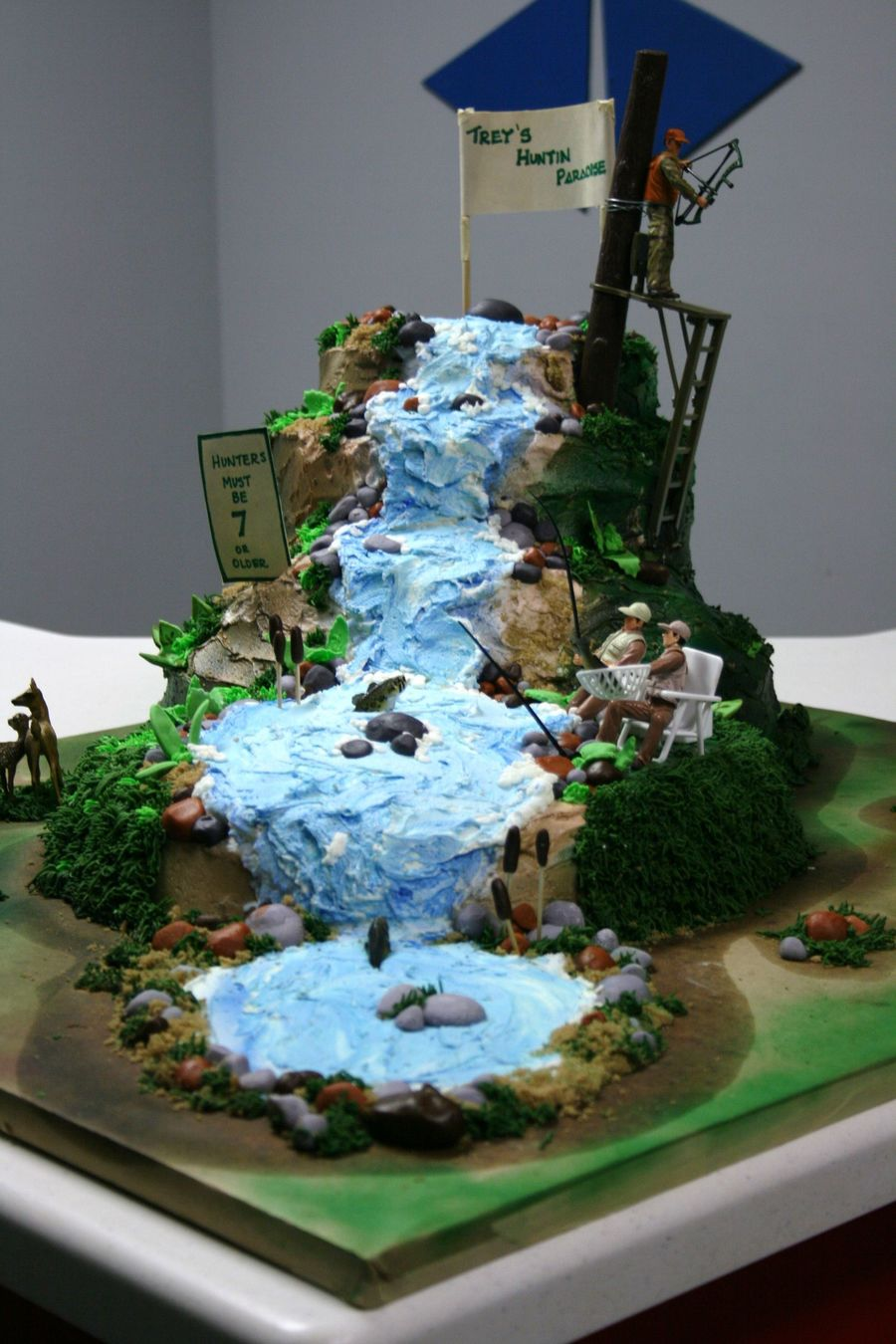 Hunting And Fishing Paradise Cakecentral Com