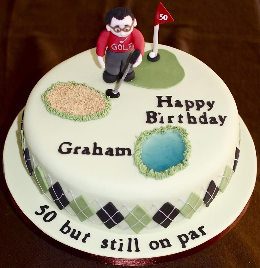 Golf 50th Birthday Cake Cakecentral Com