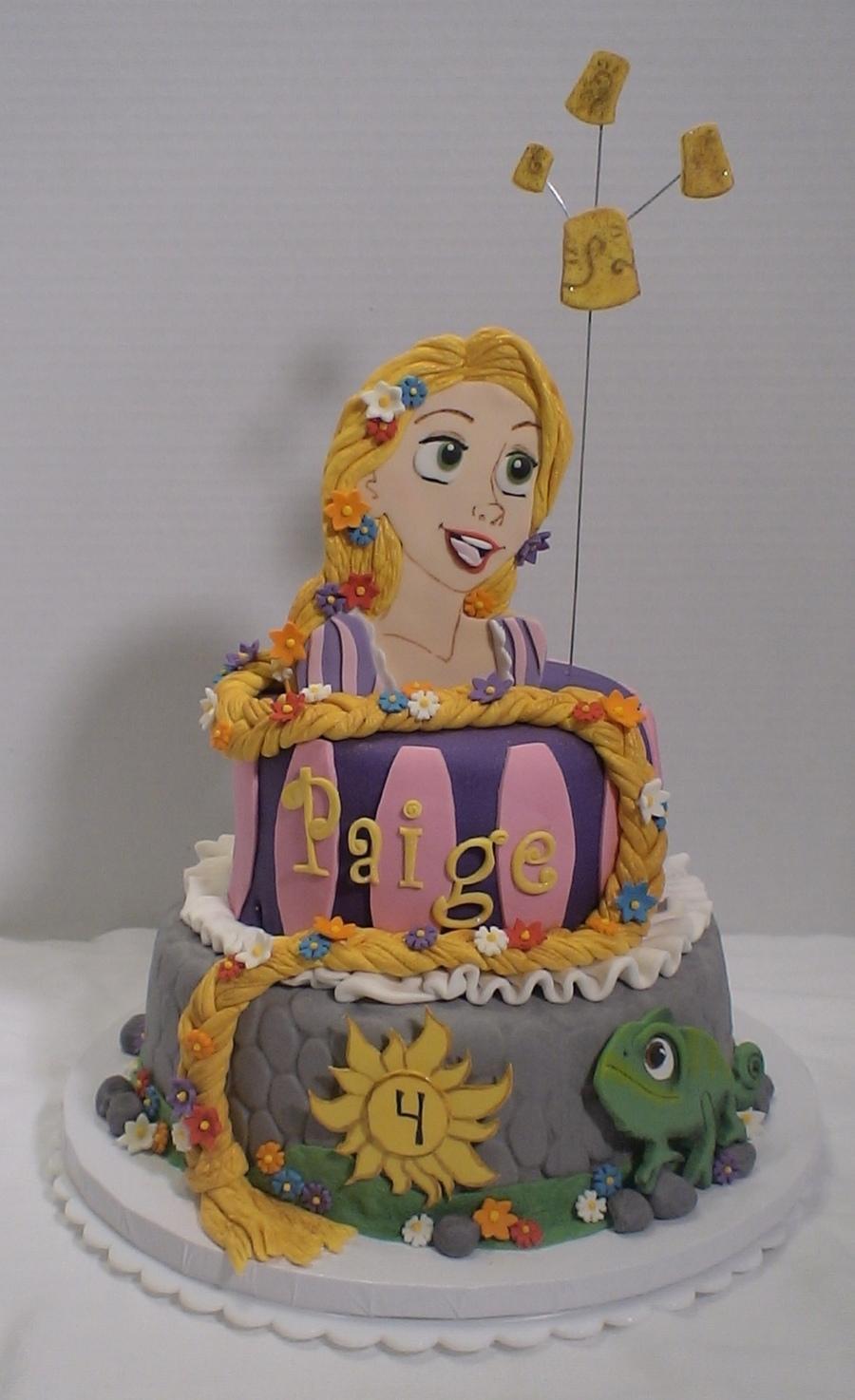 Rapunzel Tangled Birthday Cake Cakecentral Com