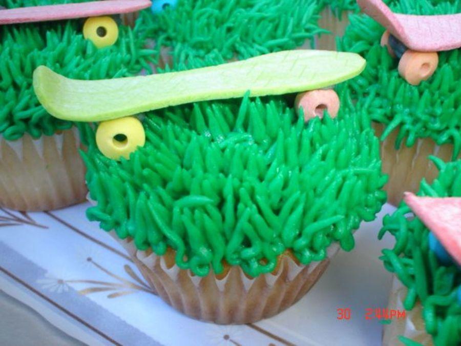 Skateboard Cupcakes Cakecentral Com