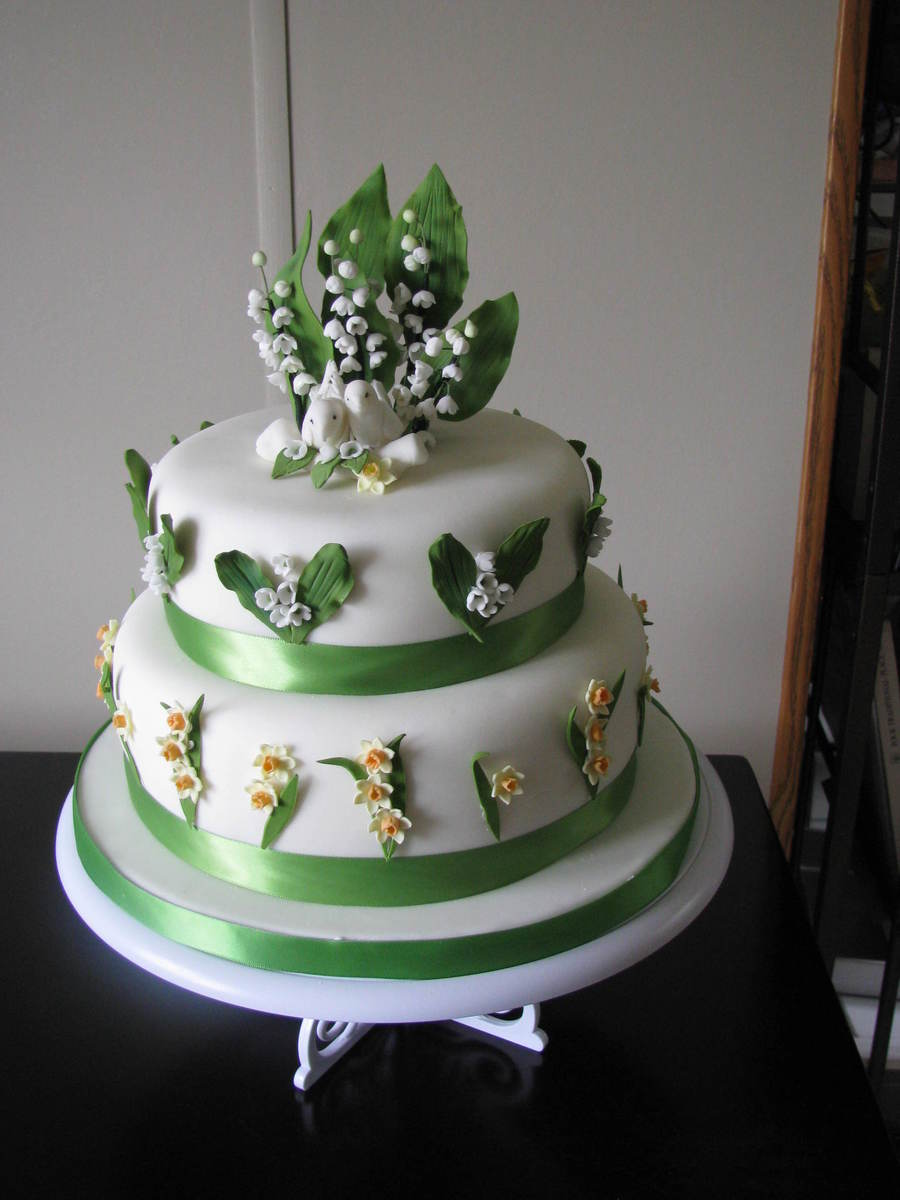 Lily Of The Valley Wedding Cake Cakecentral Com